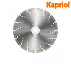 Kapriol Disco Zenith 3D F-LCB-H-R/F per il taglio del cemento refrattario. In vendita al miglior prezzo del web.