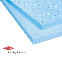 DOW Styrofoam Floormate 300-p pannello XPS alta densità, poliuretano espanso estruso azzurro.