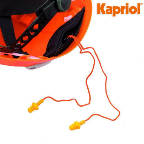 Coppia di tappi auricolari per casco...