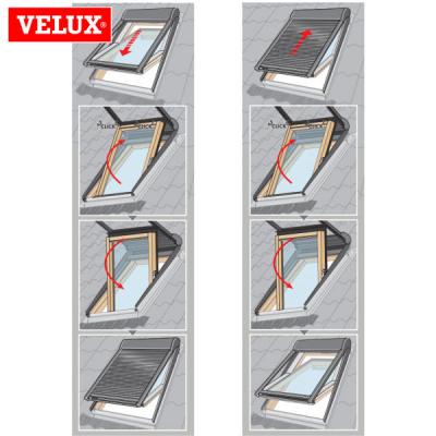Velux shl tapparella manuale easy for Velux 78x98 prezzo