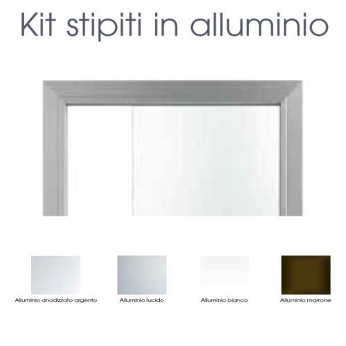Kit stipiti in alluminio per anta in...
