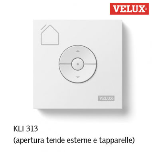 Velux kli 313 telecomando per tende esterne e tapparella for Tende oscuranti per velux non originali