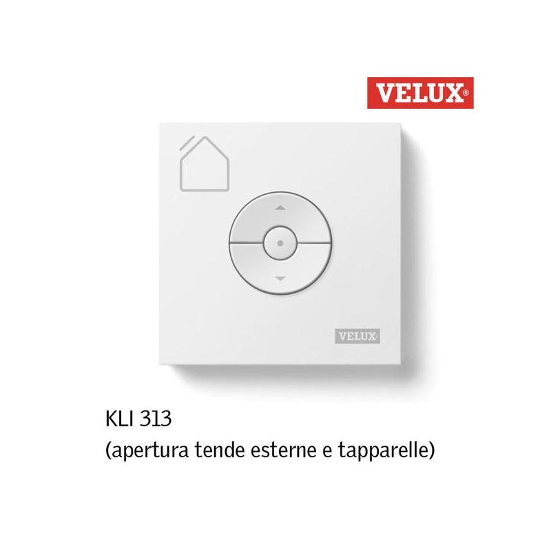 Velux kli 313 telecomando per tende esterne e tapparella for Prezzo velux integra