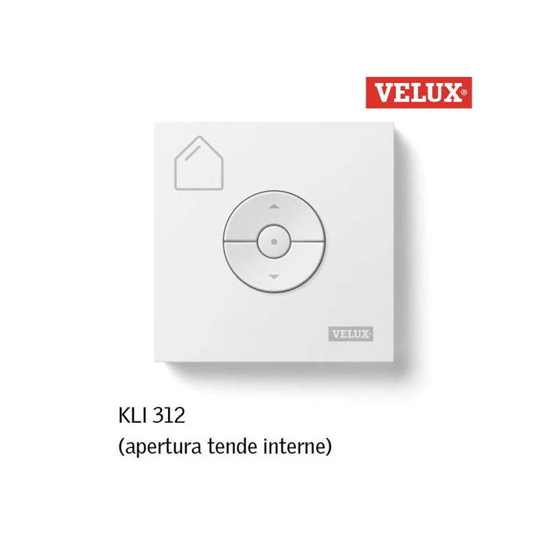 Velux kli 312 telecomando per tende interne integra for Tende oscuranti per velux non originali