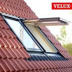 VELUX GPL finestra a doppia apertura vasistas/bilico manaule