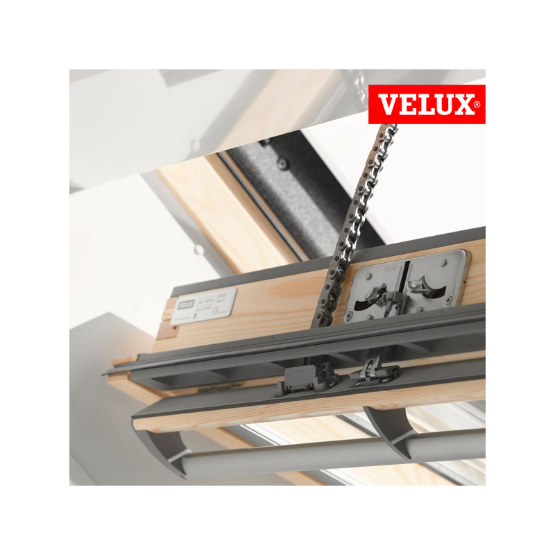 velux ggl finestra integra elettrica per tetti. Black Bedroom Furniture Sets. Home Design Ideas