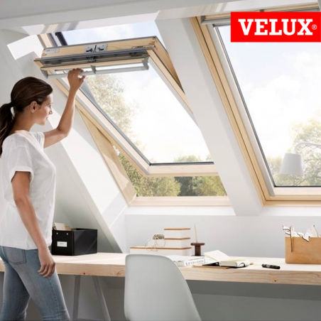 velux ggl finestra manuale a bilico per tetti. Black Bedroom Furniture Sets. Home Design Ideas
