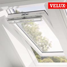 VELUX GGU finestra manuale a bilico lucernario bianco per mansarde prezzo.