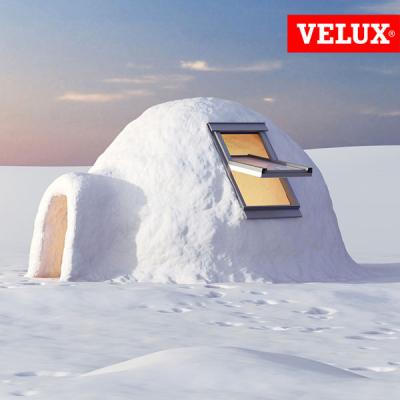 VELUX GGU 008230 finestra certificata casa passiva, massimo isolamento termico e acustico.