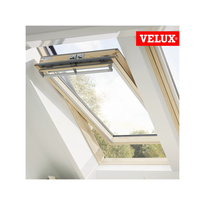 Velux ggl finestra manuale a bilico per tetti for Finestre velux elettriche prezzi