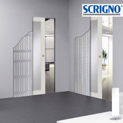 Rivenditori porte scorrevoli SCRIGNO per intonaco filo muro.