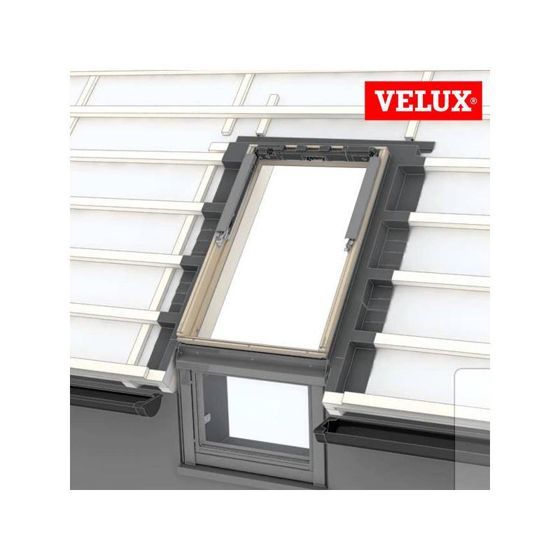 Velux efw 0012 raccordo per copertura sagomata for Velux 78x98 prezzo
