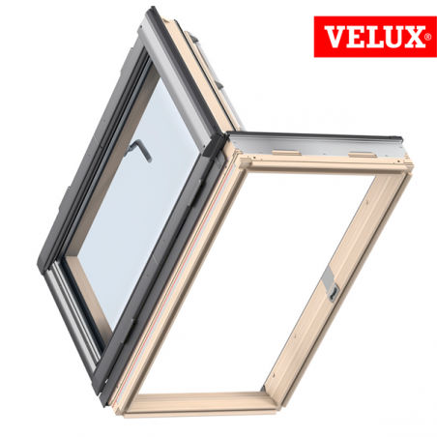 Velux gxl finestra apertura laterale for Velux misure