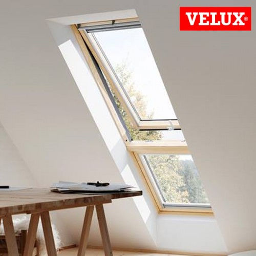 Velux gil elementi verticali non apribili for Velux shop finestre