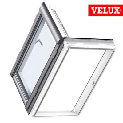 Finestra VELUX GXU apertura laterale per uscita sul tetto, vetrata 70 standard e 66 energy, misura CK06 FK06 MK04
