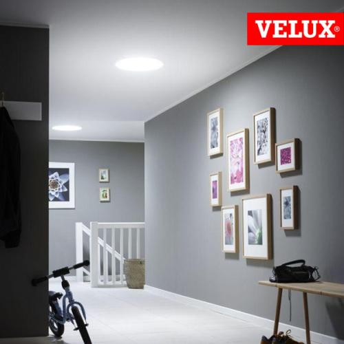 VELUX TWR tunnel solare per tetti a falda con copertura sagomata, design, architettura, light, velux white.