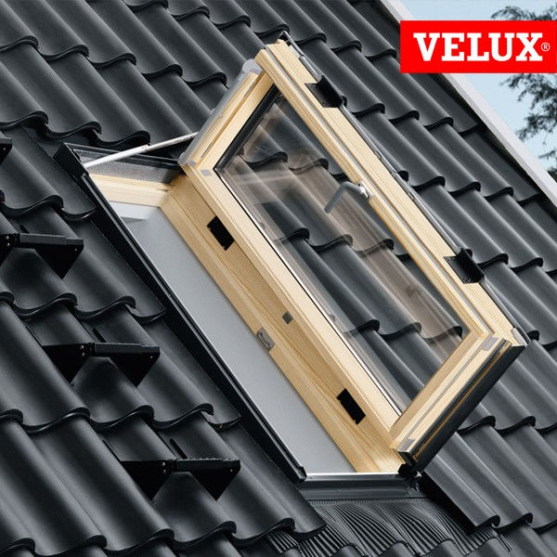 Velux pacchetto gxl mk04 apertura laterale raccordo edw for Velux 78x98 prezzo