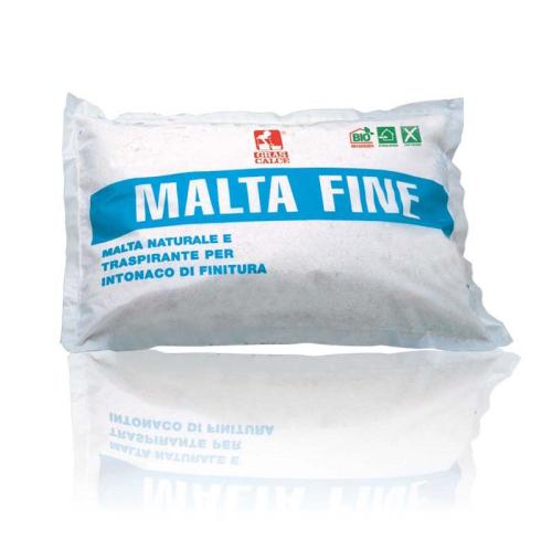 Malta fine (stabilitura)