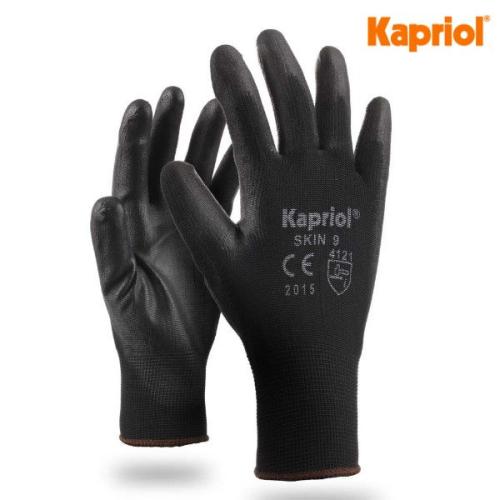 Kapriol Guanti Skin neri (12 paia)