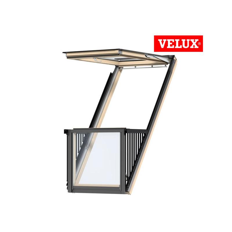 Velux gdl balcone cabrio for Velux shop finestre