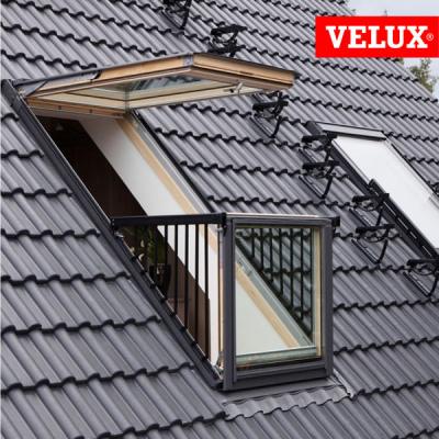 Velux gdl balcone cabrio for Velux finestre balcone