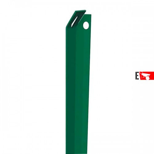 Saetta angolare plastificata verde