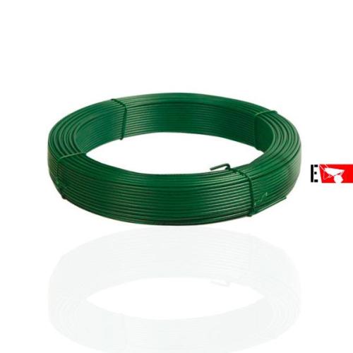 Filo plasticato verde per tenditura...