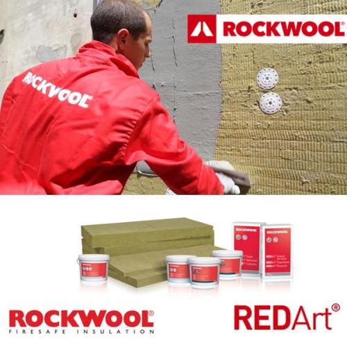 Rockwool sistema a cappotto in lana di roccia redart, prezzo, acquisto, vendita, ecommerce, online, rivenditori