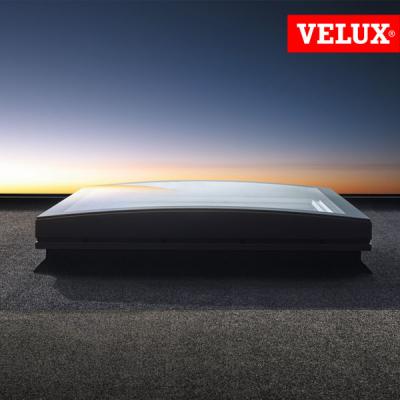 Velux isd 1093 isd 2093 vetro esterno curvo piano for Velux finestre per tetti piani