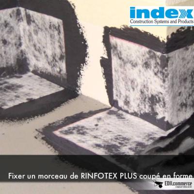 Dettaglio angoli con rinfotex plus per unolastic index.
