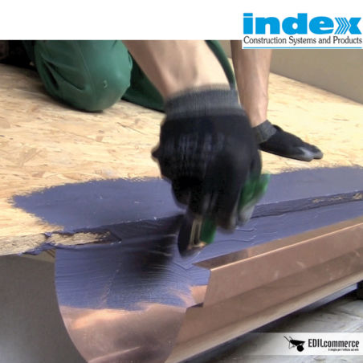 Impermeabilizzazione canali di gronda con Unolastic di Index costo a confezione.