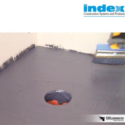 Dettagli di impermeabilizzazioni d'angolo con Unolastic Index.