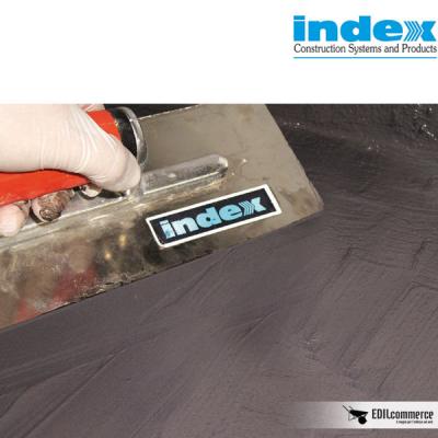 Unolastic di Index da applicare a spatola per impermeabilizzare balconi prima della posa delle piastrelle.