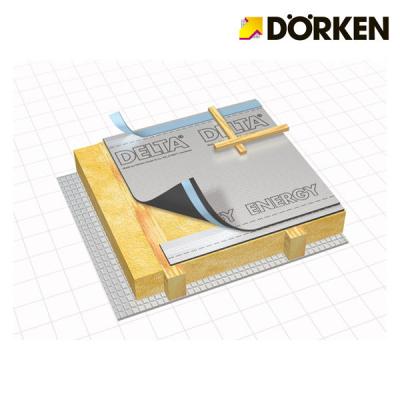 DORKEN DELTA-ENERGY Schermo solare traspirante per tetto e pareti a risparmio energetico.Prezzo al rotolo 50 m x 1.5 m.