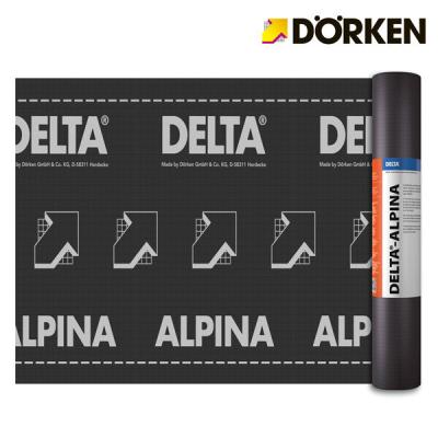 DORKEN DELTA-ALPINA. Membrana traspirante ad altissime prestazioni. Prezzo al rotolo.