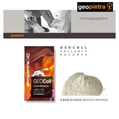 Geocoll è un adesivo studiato appositamente per le caratteristiche della pietra ricostruita GEOPIETRA al miglior prezzo.