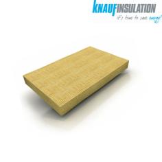KNAUF INSULATION. Pannello isolante rigido in lana di roccia DP10 senza rivestimento.Al miglior prezzo.