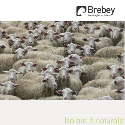 BREBEY TECNOLANA. MATERASSINO ISOLANTE IN LANA NATURALE DI PECORA.Al miglior prezzo.