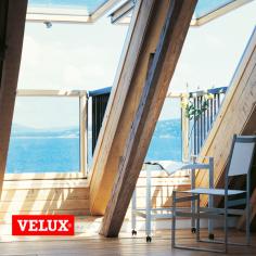 Balcone cabrio VELUX GDL vetrata, doppia apertura, montaggio, vendita italia, vendita lombardia, vendita bergamo.