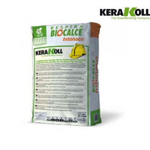 Intonaco naturale certificato, eco-compatibile, di pura calce naturale per intonacature altamente traspiranti al miglior prezzo.