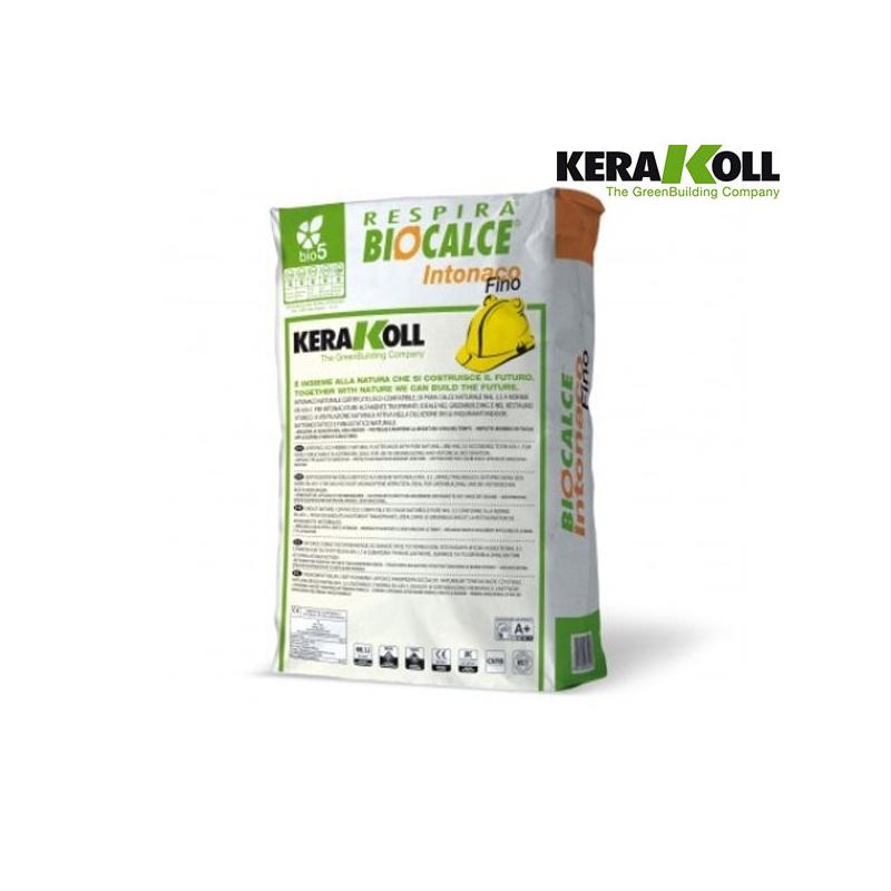 Kerakoll biocalce intonaco fino for Biocalce intonaco
