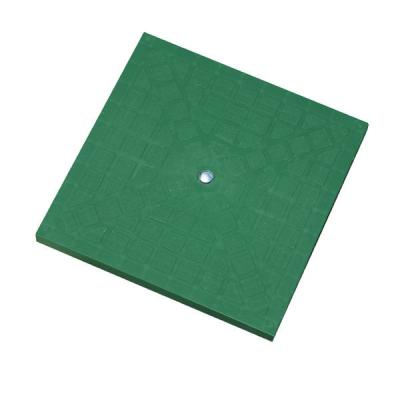 coperchio chiusino in polipropilene stampato PP verde misure 20x20 25x25 30x30 40x40 55x55 vendita online al miglior prezzo.