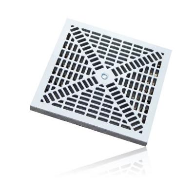 griglia in polipropilene stampato PP grigio misura 20x20 25x25 30x30 40x40 55x55 vendita online al miglior prezzo.