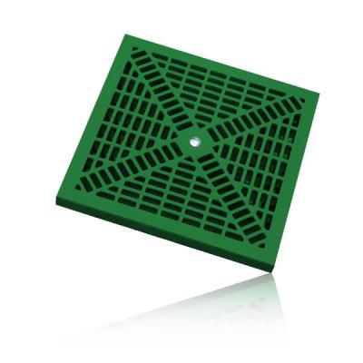 griglia in polipropilene stampato PP verde misura 20x20 30x30 40x40 55x55 vendita online al miglior prezzo.