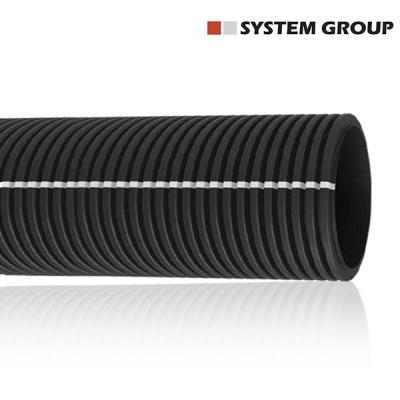 rotolo di cavidotto corrugato tubo passacavi prezzo per ogni diametro 50 metri e 25 metri.