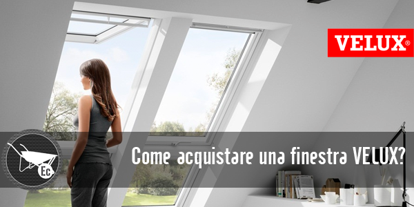 Velux finestre e lucernari per tetti in vendita online for Velux shop finestre