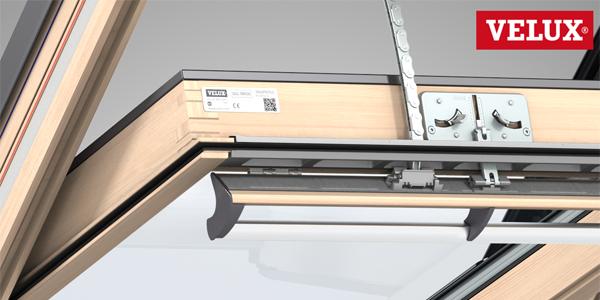 Come motorizzare la finestra Velux manuale con motore integra elettrico o solare